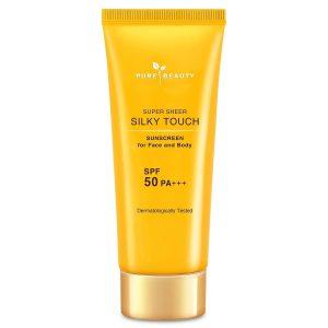 Pure Beauty Super Sheer Silky Touch Güneş Kremi