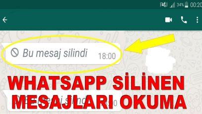 Whatsapp Silinen Mesajları Görme Uygulaması 2