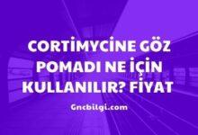Cortimycine Goz Pomadi Ne Icin Kullanilir Fiyat