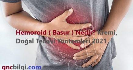 Hemoroid Basur Nedir Kremi Dogal Tedavi Yontemleri 2021 scaled