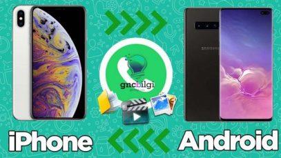 Iphonedan Androide Whatsapp Aktarma Yontemleri Ucretsiz scaled