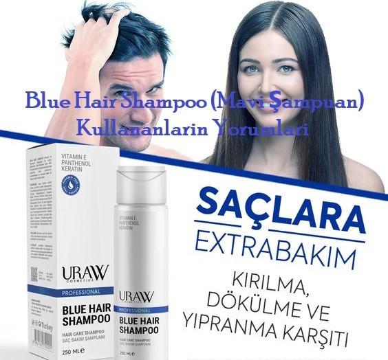 Blue Hair Shampoo Mavi Sampuan Kullananlarin Yorumlari