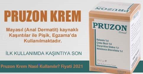 Pruzon Krem Nasil Kullanilirr Fiyati 2021