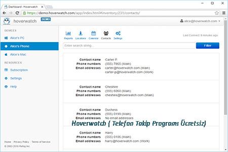 Hoverwatch Telefon Takip Programi Ucretsiz
