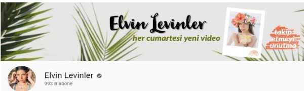 Elvin Levinler youtube kanali