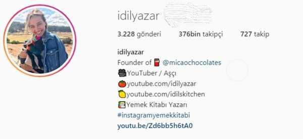 Idil tatari azar instagram
