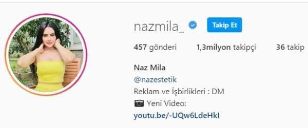Naz Mila Instagram