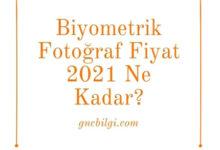 Biyometrik Fotograf Fiyat 2021 Ne Kadar
