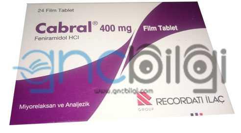 Cabral 400 mg tablet