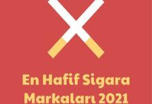 En Hafif Sigara Markalari 2021