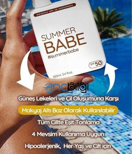 SummerBabe Gunes Kremi