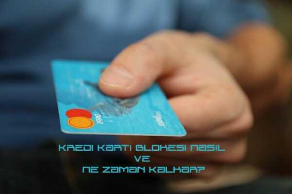 kredi kart bloke