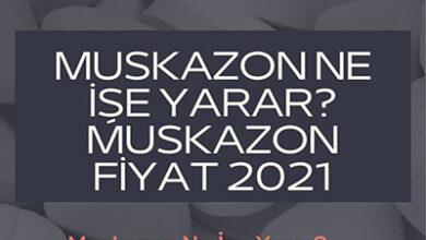 Muskazon Ne Ise Yarar Muskazon Fiyat