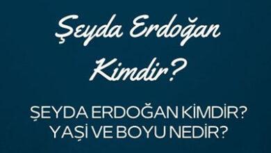 Seyda Erdogan Kimdir Yasi ve Boyu Nedir