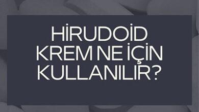 Hirudoid Krem Ne Icin Kullanilir Hirudoid Krem Fiyat