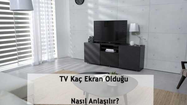 Televizyon Tercih Ederken Cozunurluk Kac Olmalidir